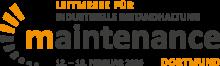 Logo der maintenance Dortmund